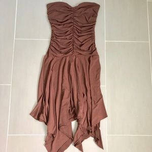 Guess strapless dress